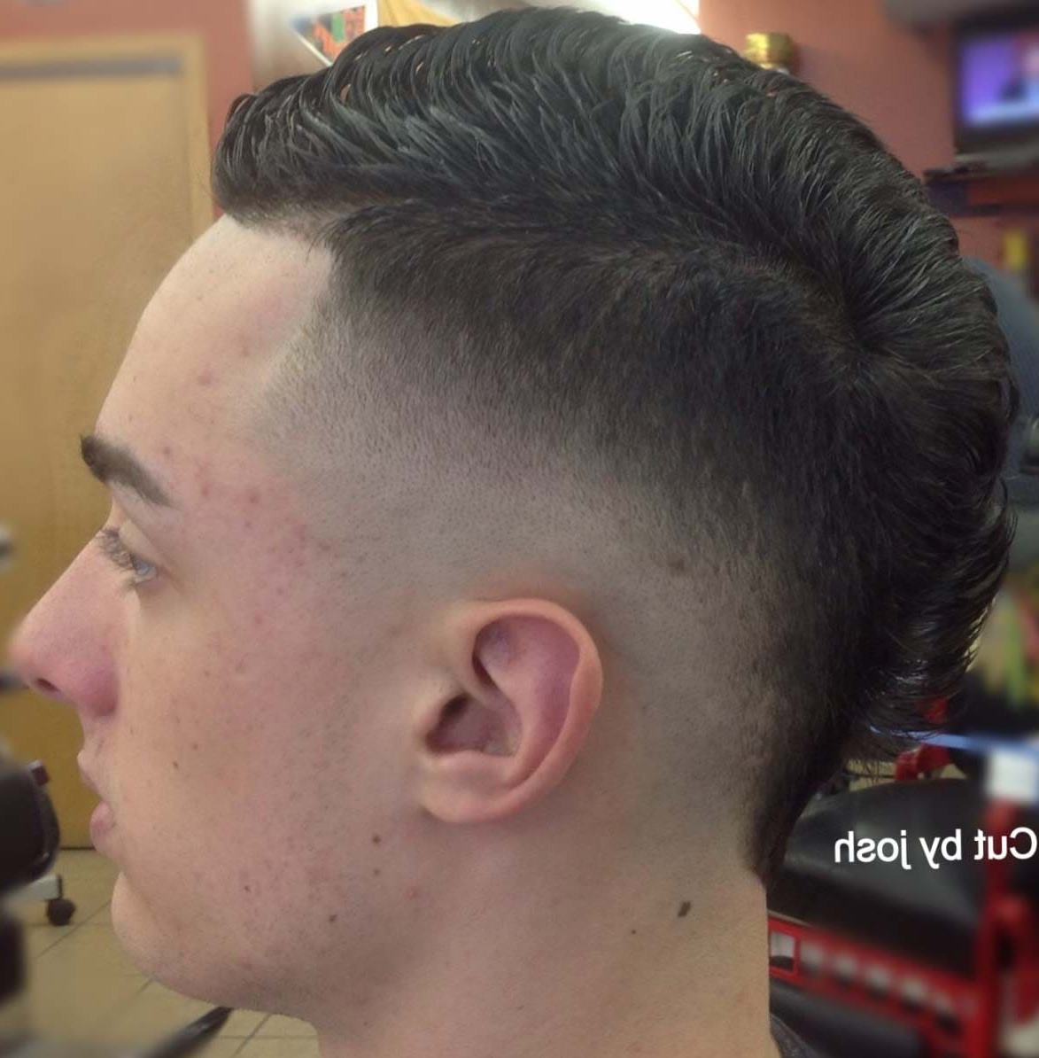 Current Fauxhawk Haircuts Pertaining To Stylish Faux Hawk Fade Haircuts 2018 – Men's Haircut Styles (View 7 of 20)