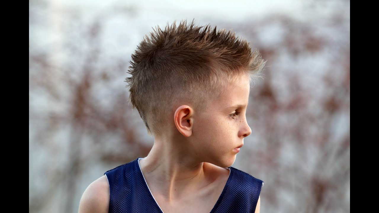Current Spiky Mohawk Hairstyles With Regard To How To Cut A Boy's Mohawk / Fohawk Hair Cut Tutorial Fauxhawk (View 14 of 20)
