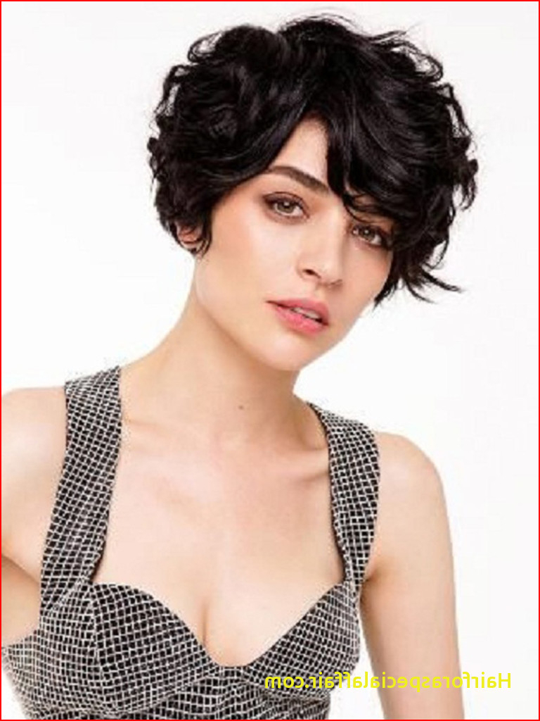 Cute Short Hairstyles For Wavy Hair 19 Cute Wavy & Curly Inside Cute Curly Pixie Hairstyles (View 13 of 20)
