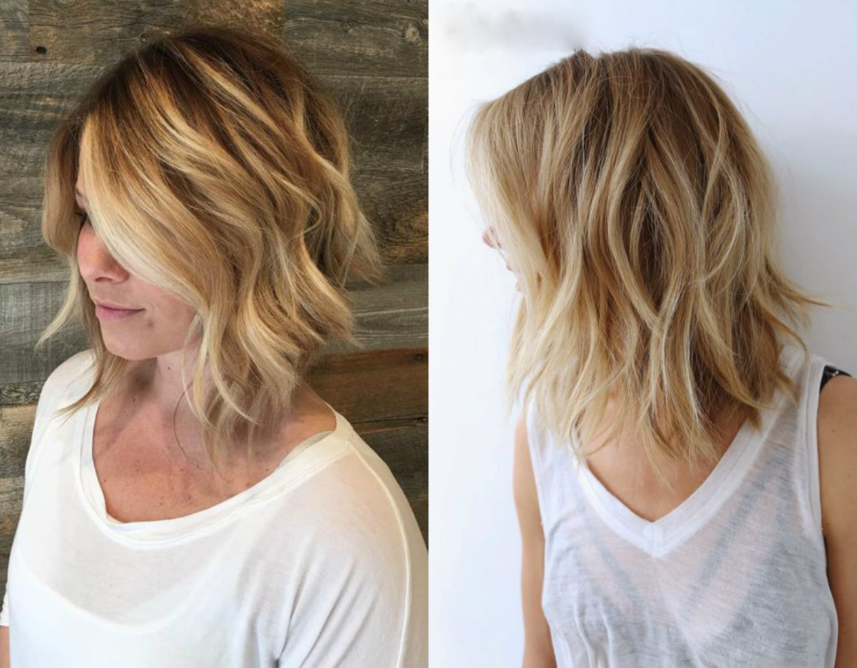 Cutest Beach Wavy Bob Hairstyles | Hairdrome Pertaining To Sun Kissed Bob Haircuts (View 3 of 20)