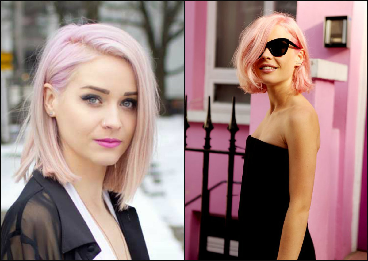 Dainty Back To School Hairstyles To Impress Your Mates In Pink Bob Haircuts (View 12 of 20)