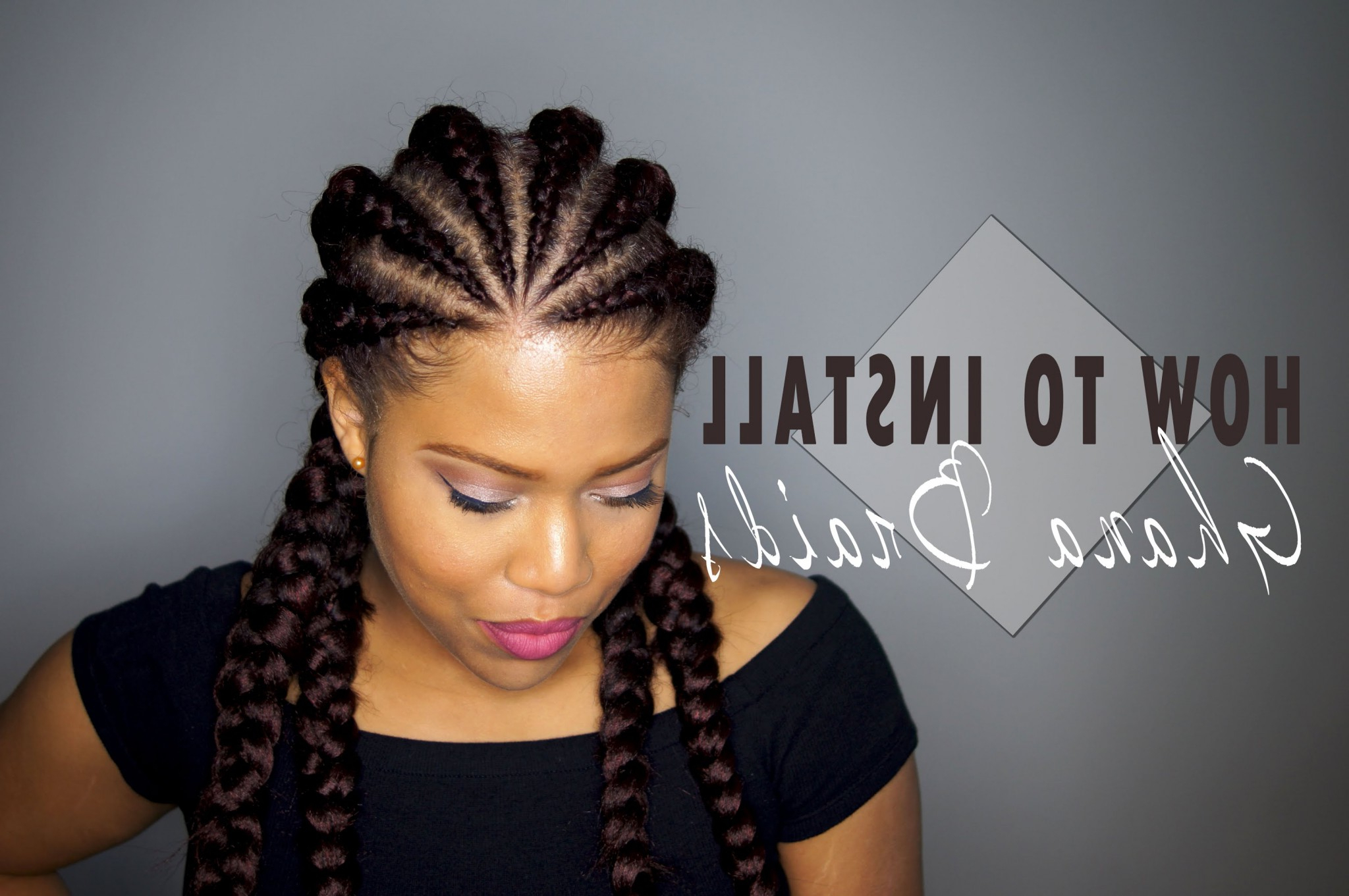 Don't Know What To Do With Your Hair: Check Out This Trendy With Most Popular Braided Bantu Knots Mohawk Hairstyles (View 5 of 20)