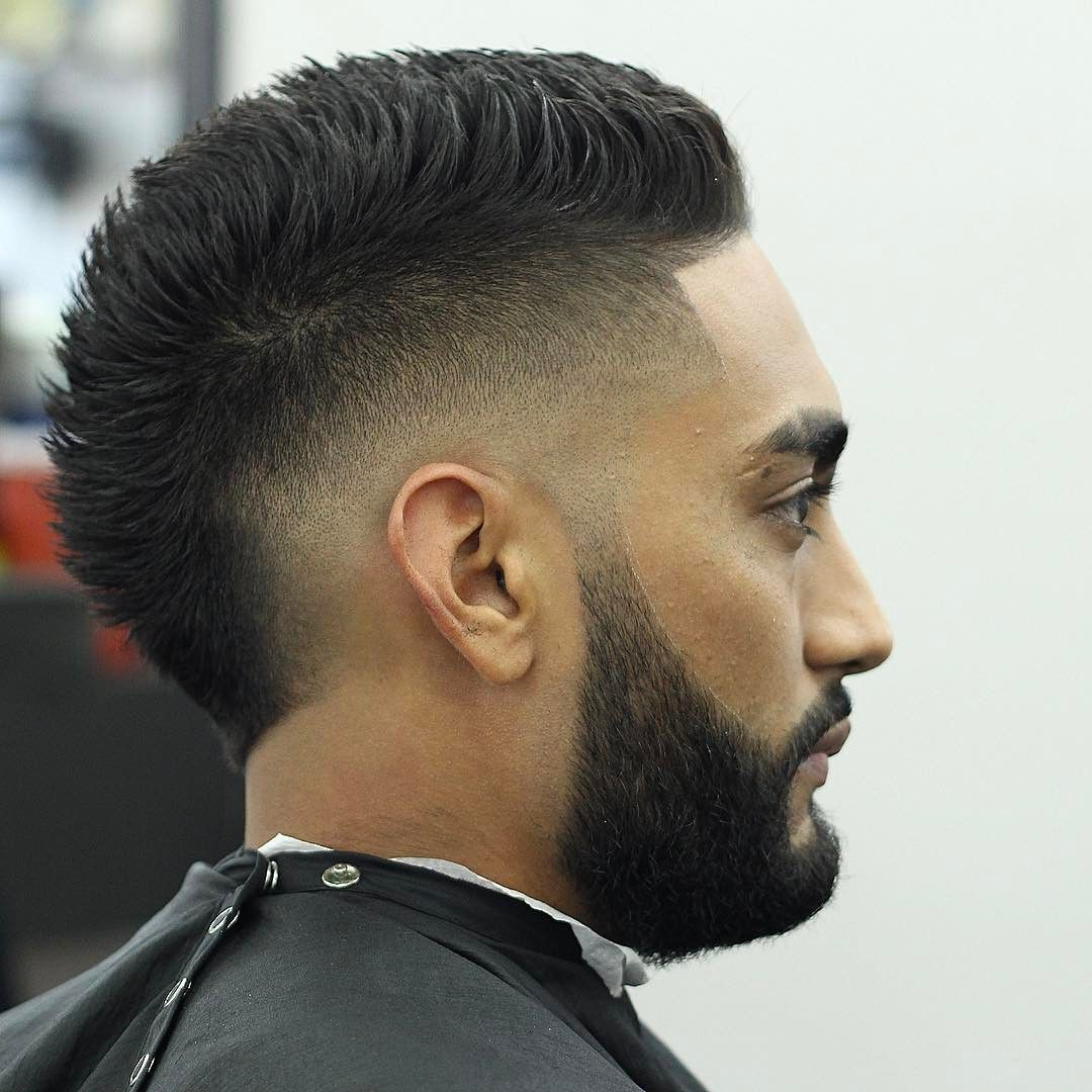 Drop Fade Haircut In Widely Used Classy Faux Mohawk Haircuts For Women (View 11 of 20)