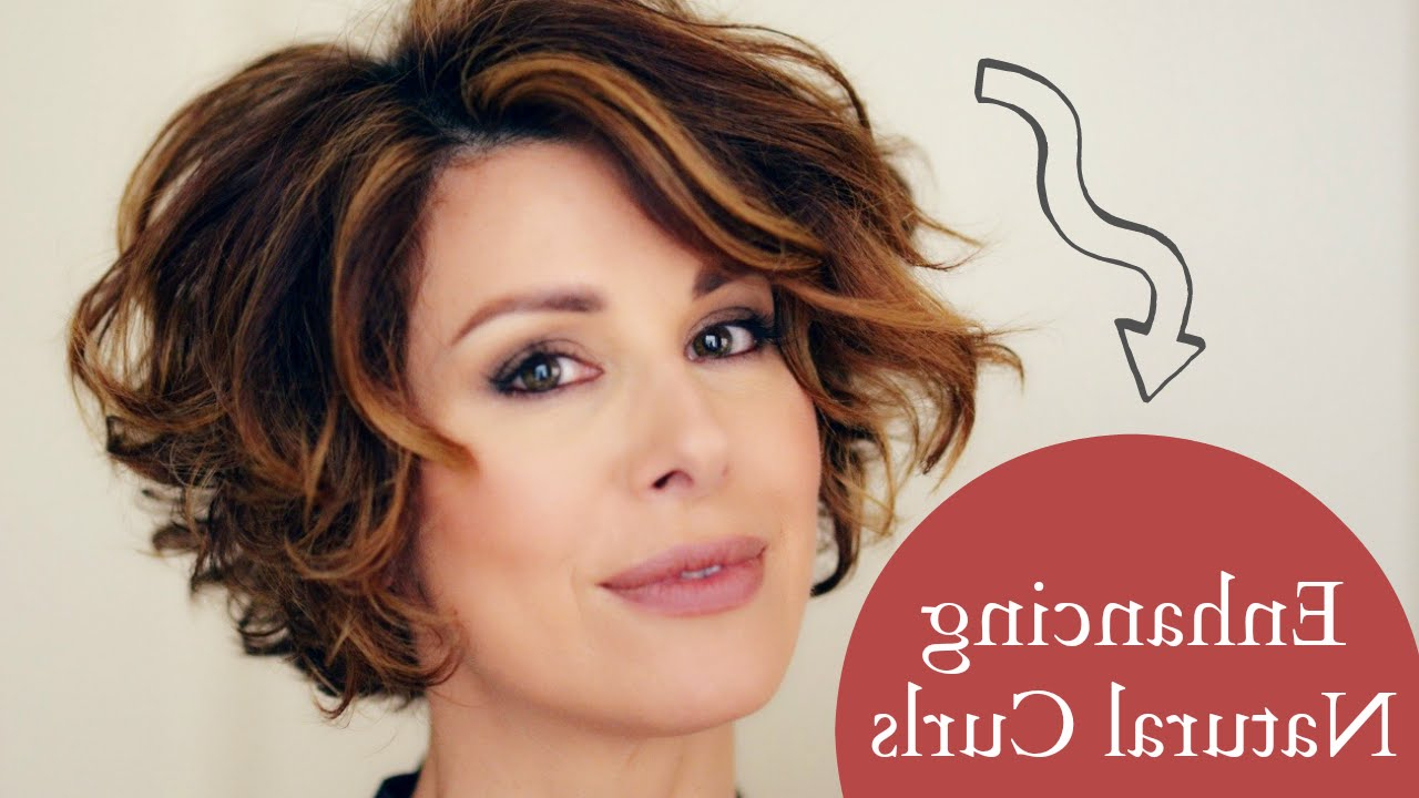 Enhancing Short Naturally Curly Hair Within Pixie Haircuts With Bangs And Loose Curls (View 13 of 20)
