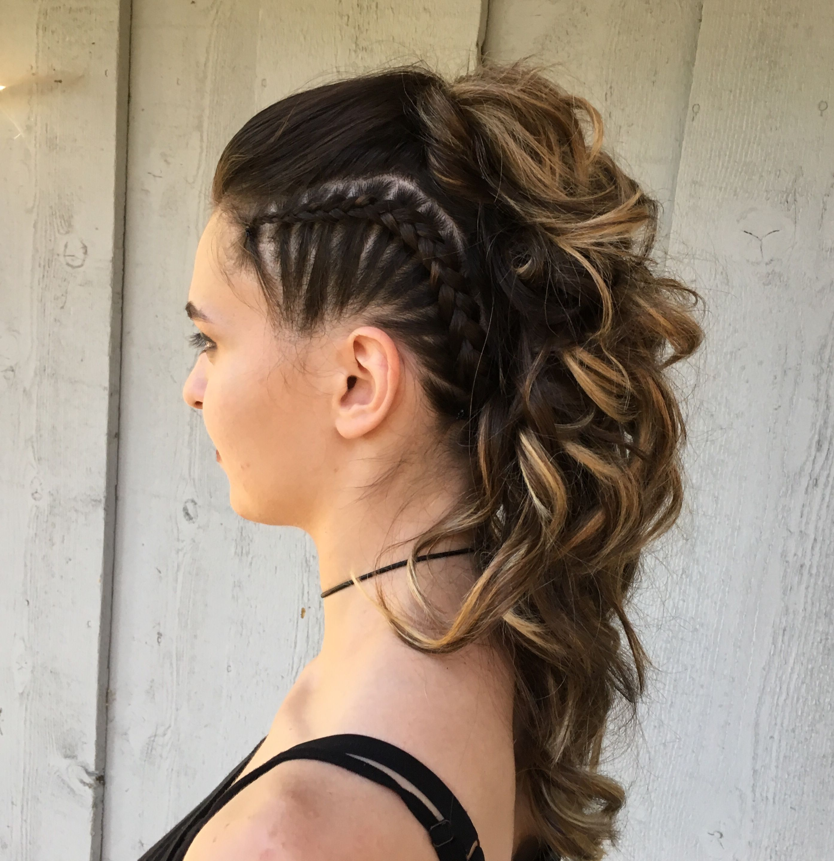 Every Little With Trendy Punk Mohawk Updo Hairstyles (View 2 of 20)
