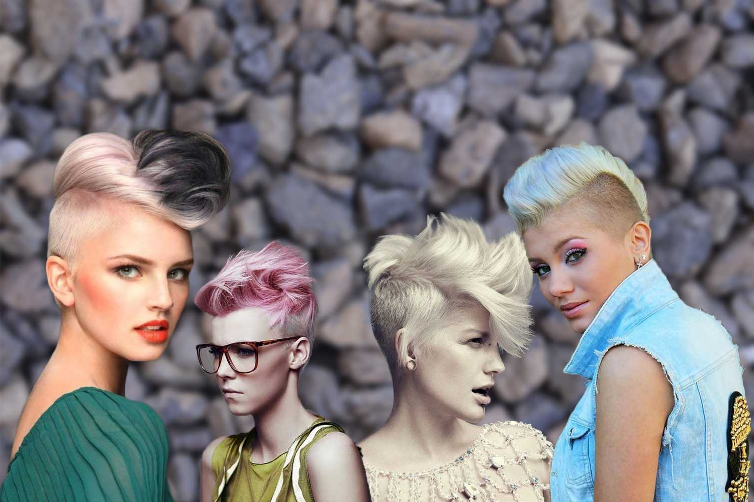 Famous Shaved And Colored Mohawk Haircuts With Regard To Mohawk Hairstyles For Women That Have Something To Say (View 4 of 20)