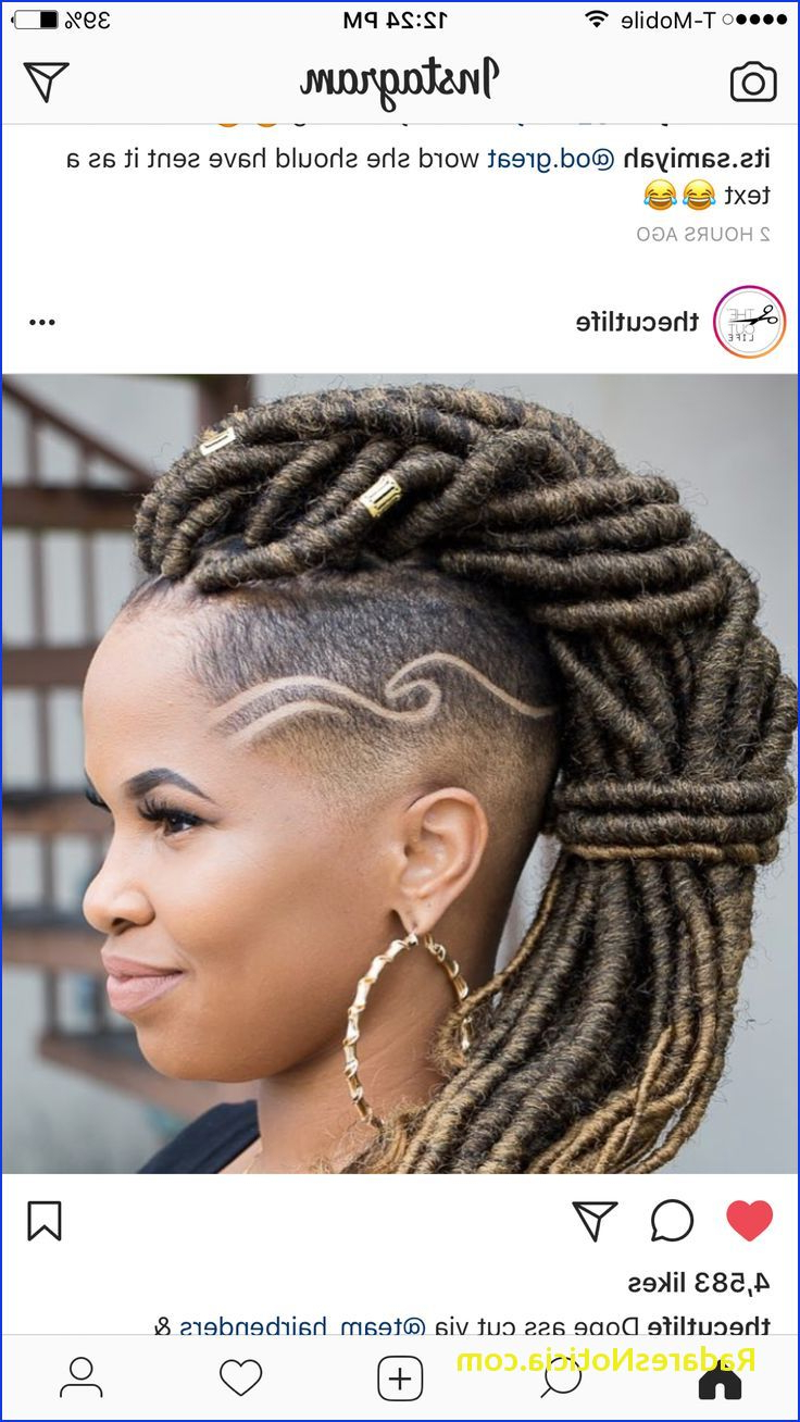 Fashionable Big Braid Mohawk Hairstyles Within Braided Mohawk Hairstyles 7 Best Cut Cut Cut Images On (Gallery 16 of 20)
