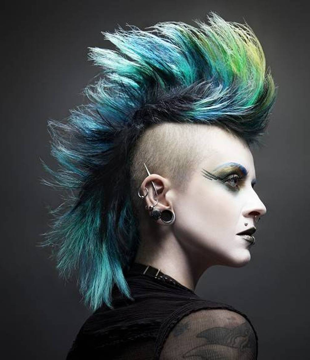 Fashionable Hot Red Mohawk Hairstyles Intended For Punk Hiarstyles For Women (View 7 of 20)