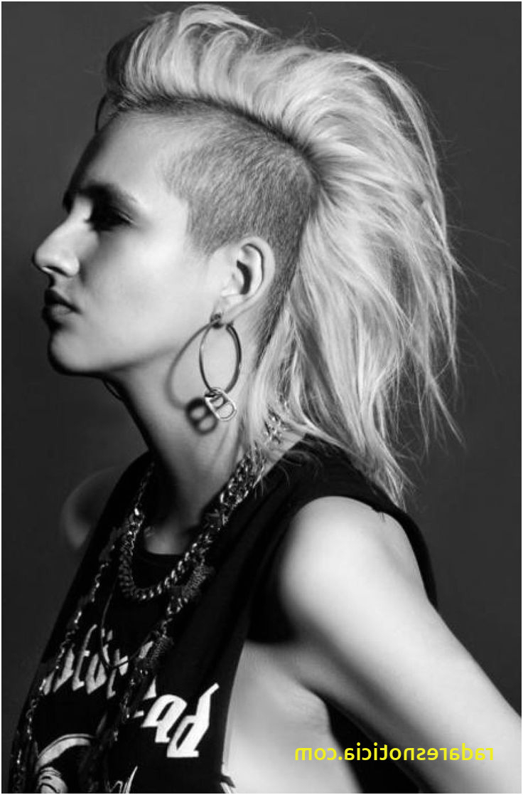 Fashionable Medium Length Hair Mohawk Hairstyles In 9 List Girl Mohawk Hairstyle (View 6 of 20)
