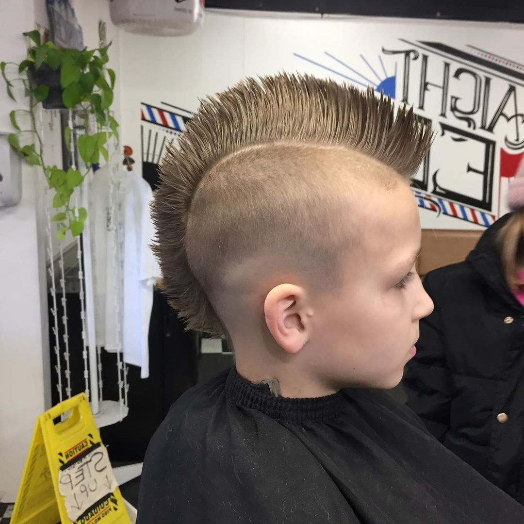 Fashionable Shaved And Colored Mohawk Haircuts Intended For Men's Hair, Haircuts, Fade Haircuts, Short, Medium, Long (View 5 of 20)