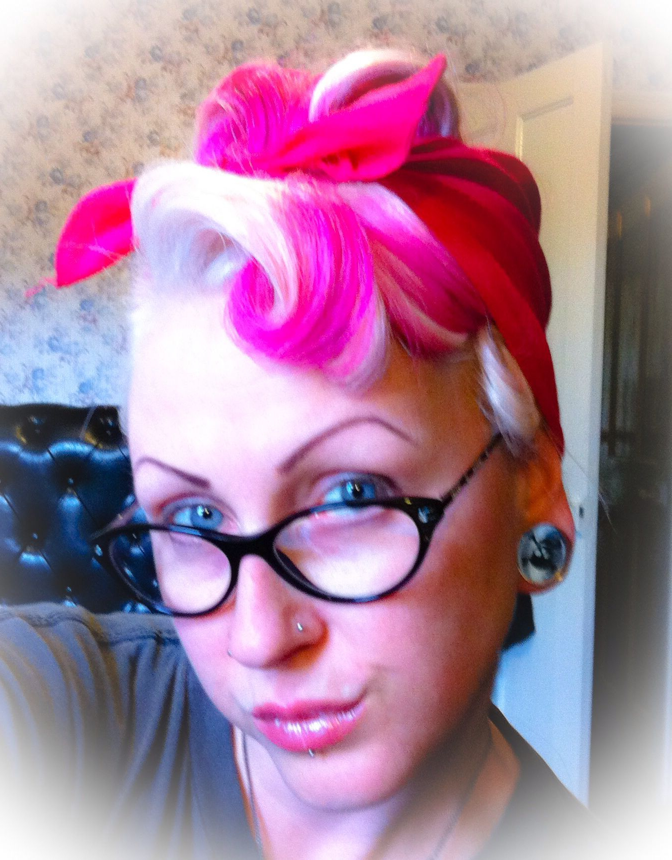 Fashionable Victory Roll Mohawk Hairstyles Inside My First Attempt At Victory Rolls ( Growing Out A Mohawk (View 5 of 20)