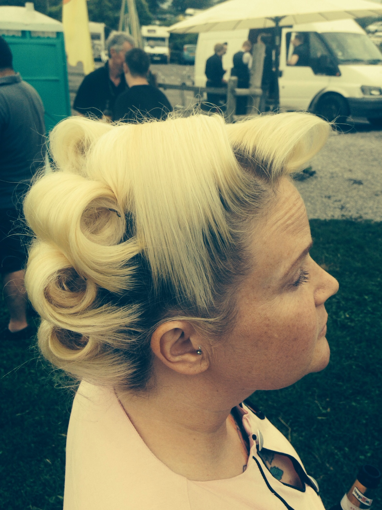Favourite Updo? – Vintagevictoryrollers.co.uk Regarding Most Up To Date Victory Roll Mohawk Hairstyles (Gallery 12 of 20)