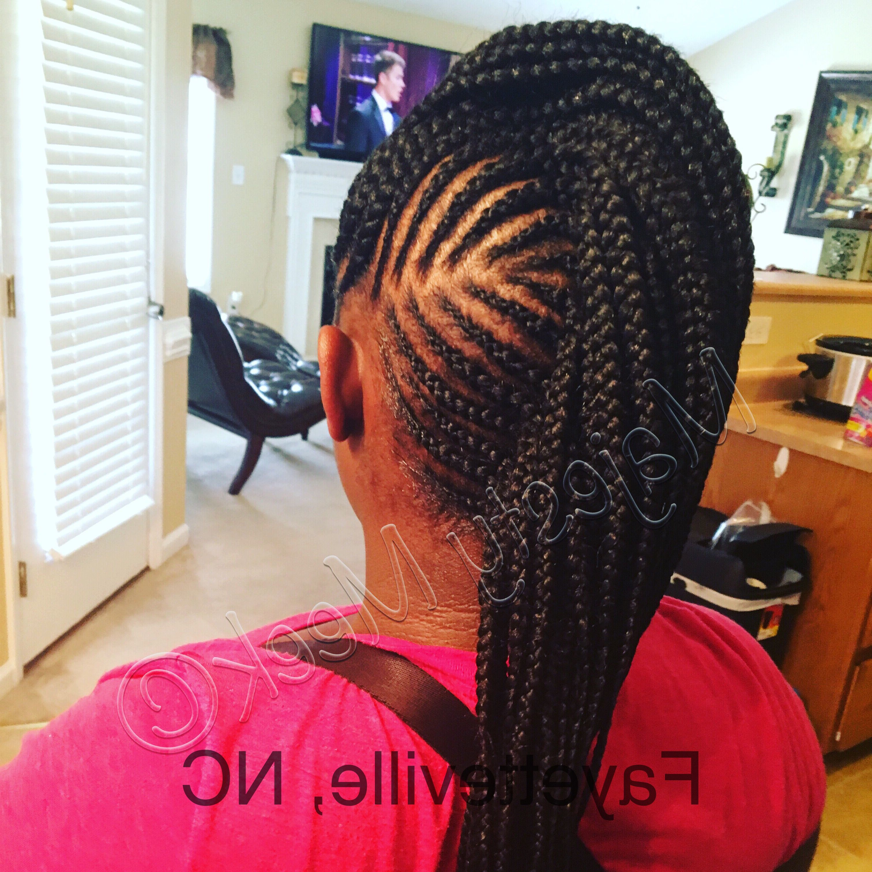 Feed In Mohawk Braids (View 6 of 20)