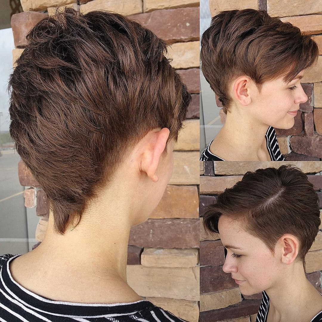 Female Hairstyles For Most Current Pixie Faux Hawk Haircuts (View 11 of 20)