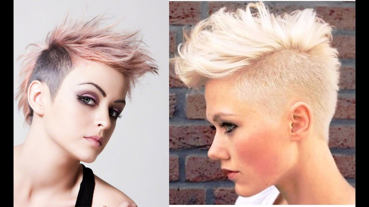 Female Mohawk Hairstyle Within Popular Medium Length Blonde Mohawk Hairstyles (View 13 of 20)