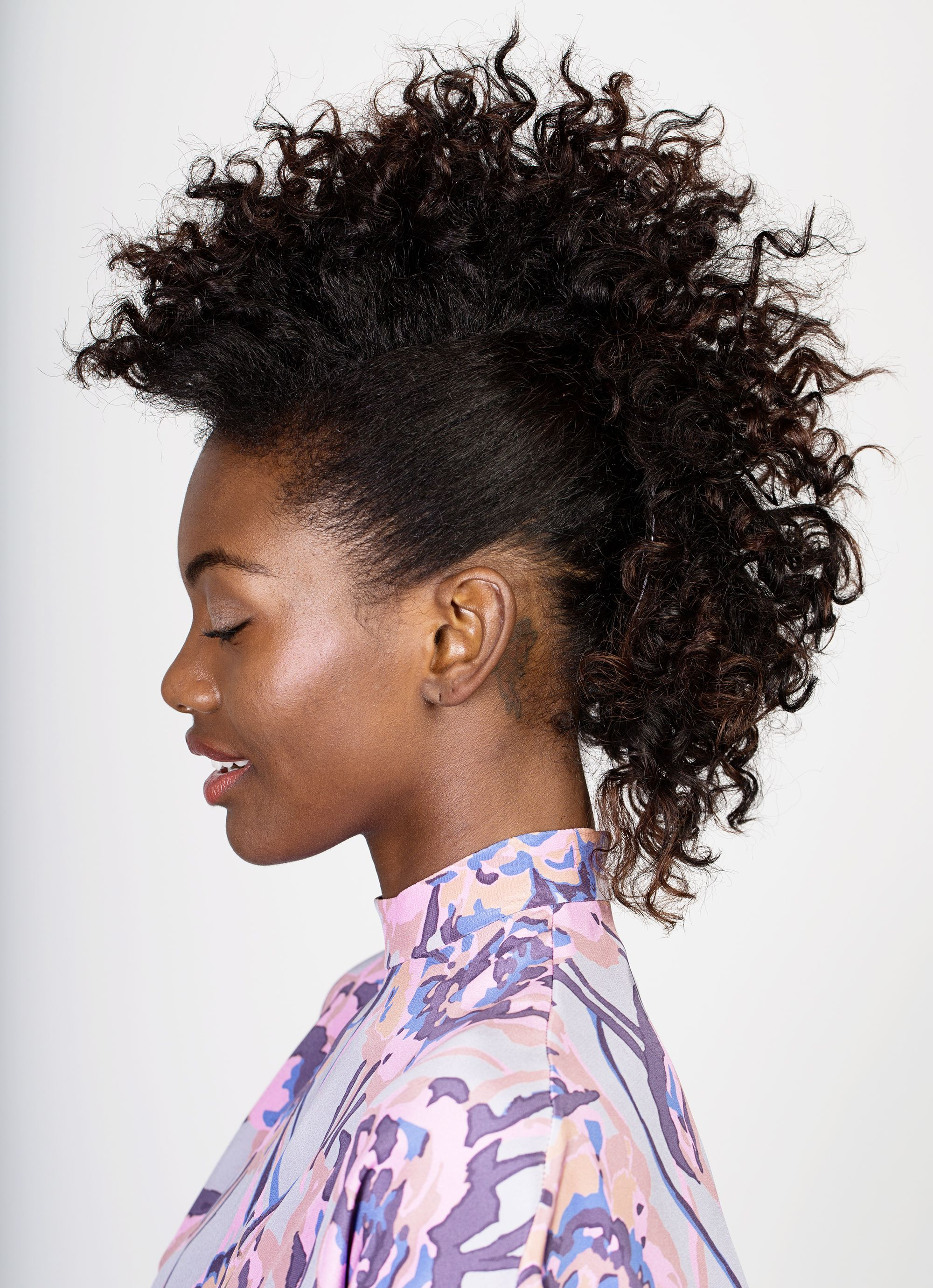 Fierce Fauxhawk How To With Fashionable Fierce Mohawk Hairstyles With Curly Hair (View 14 of 20)