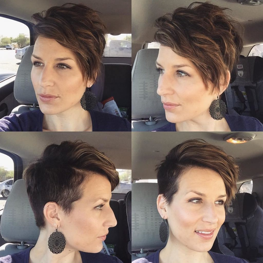 Find Out Full Gallery Of Terrific Pixie Faux Hawk Haircut Regarding 2021 Pixie Faux Hawk Haircuts (View 12 of 20)