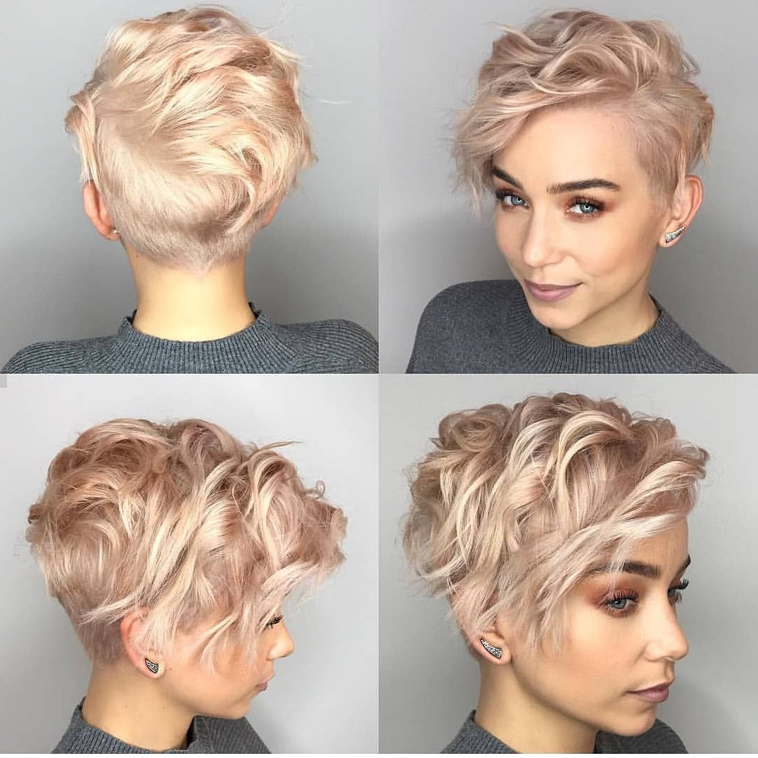 Featured Photo of Glamorous Pixie Hairstyles