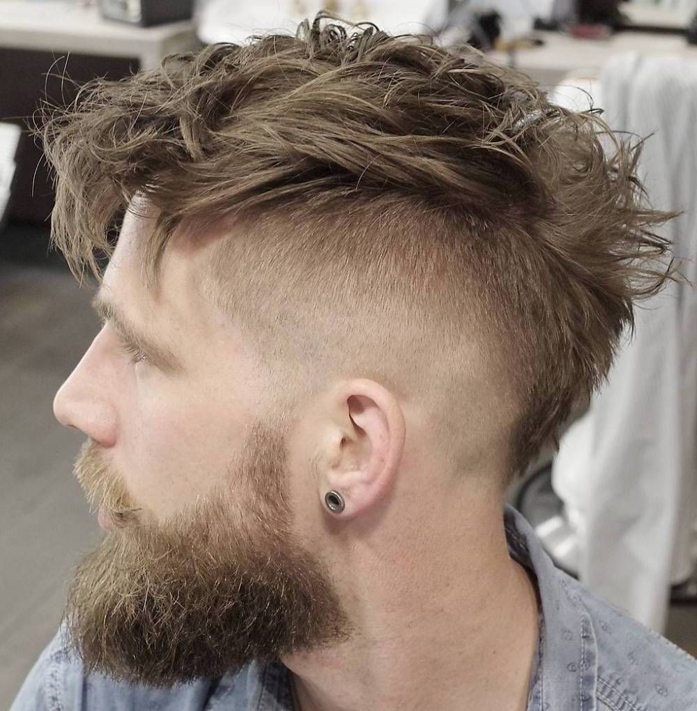 Hair Style Throughout 2020 Messy Curly Mohawk Haircuts (View 8 of 20)