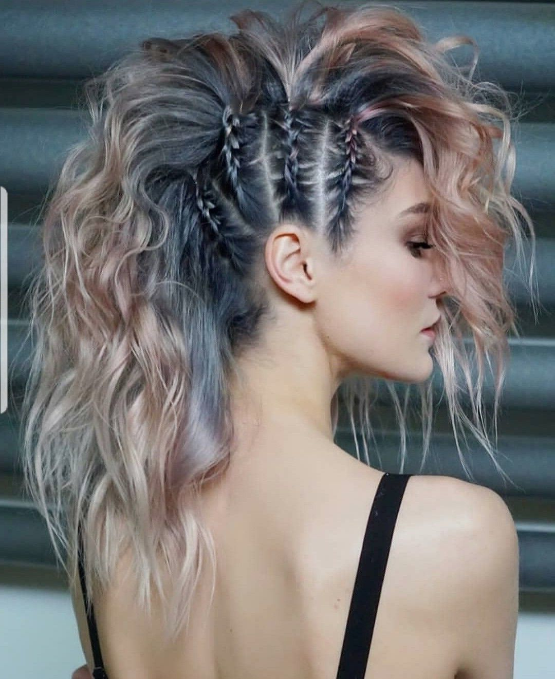 Hair Styles, Curly Hair Throughout Most Recent Teased Long Hair Mohawk Hairstyles (View 3 of 20)