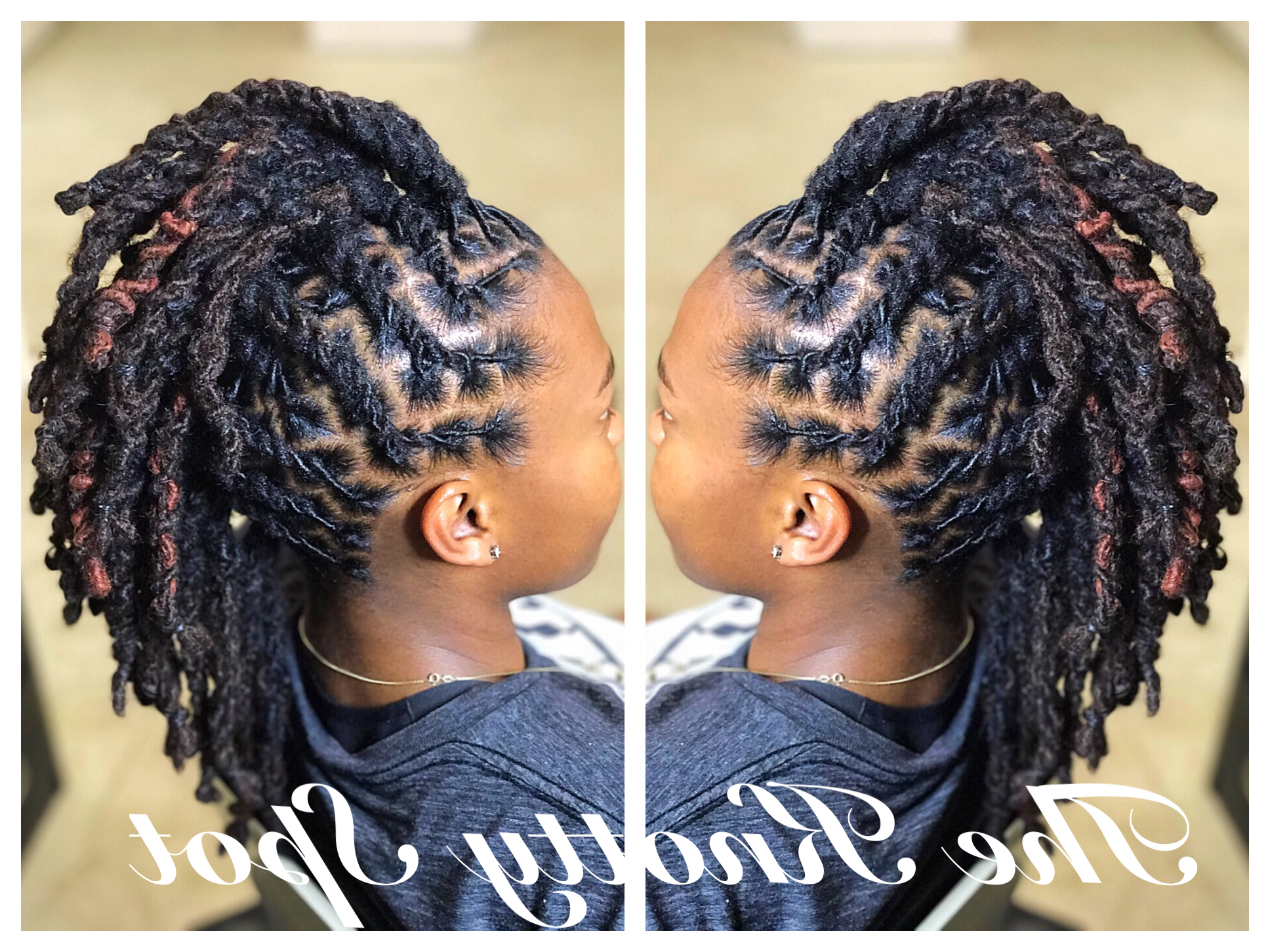 Hair Styles, Dreadlock For Most Popular Dreadlocked Mohawk Hairstyles For Women (View 4 of 20)
