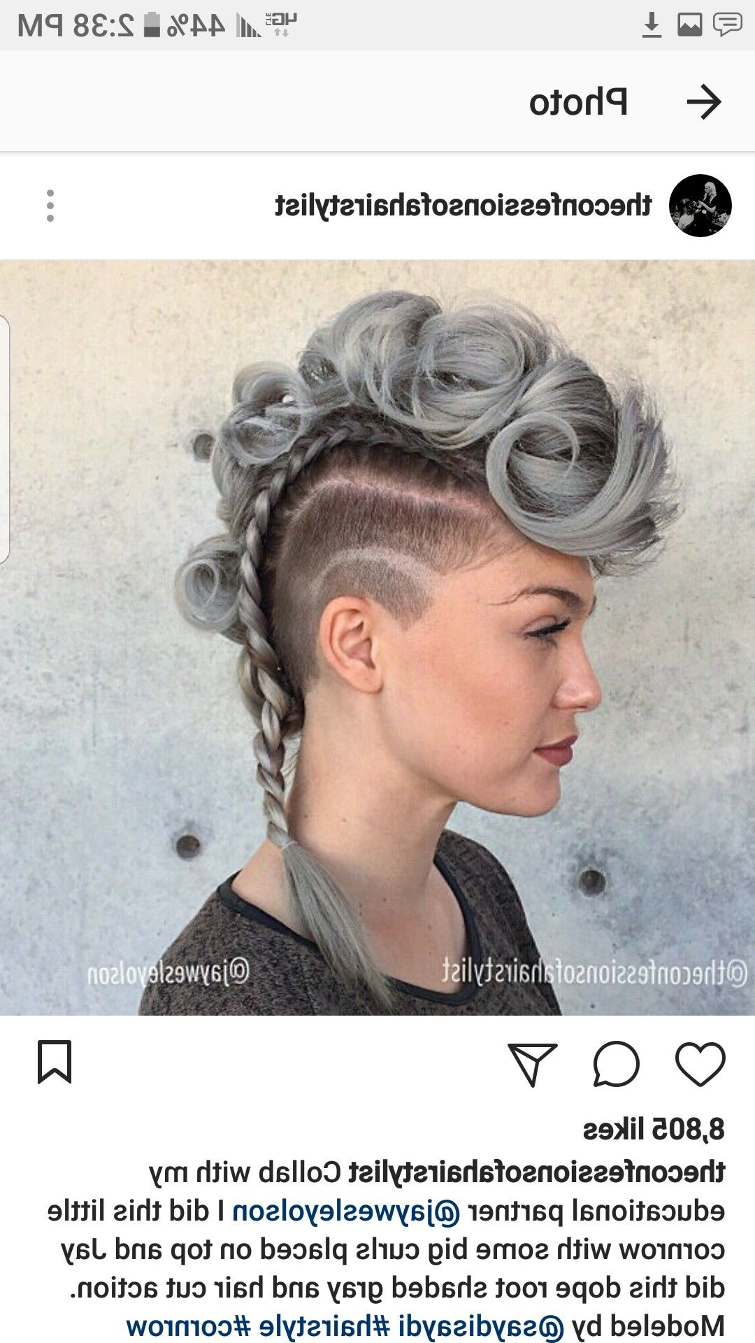 Hair Styles, Mohawk (View 7 of 20)