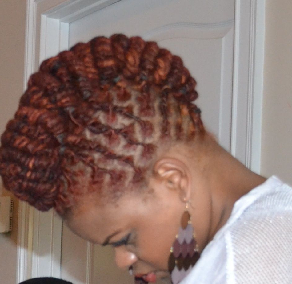 Featured Photo of Dreadlocked Mohawk Hairstyles For Women