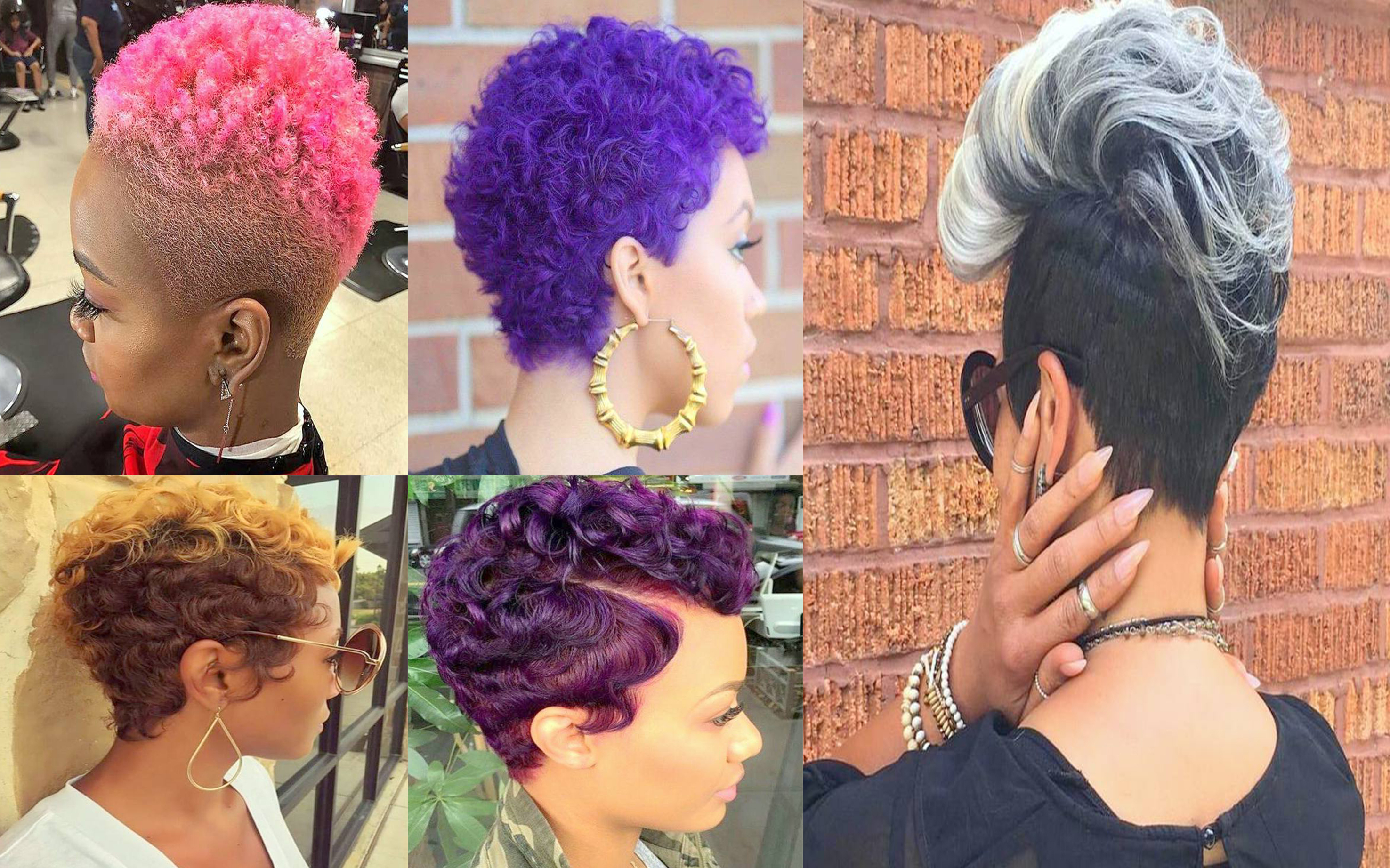 Hairstyles : Black Women Mohawk Hairstyles Easy Best Also For Famous Short Hair Inspired Mohawk Hairstyles (View 8 of 20)