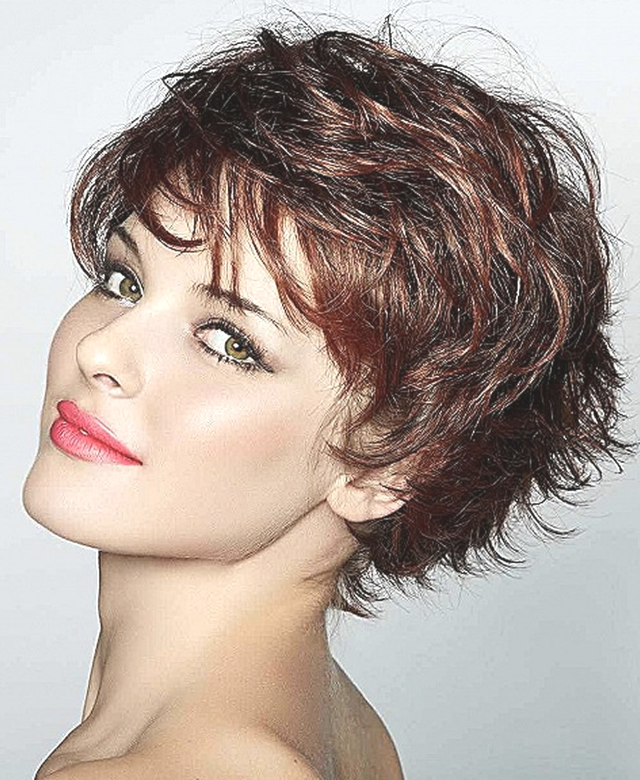 Hairstyles : Curly Short Hairstyles For Women Glamorous For Glamorous Pixie Hairstyles (View 14 of 20)