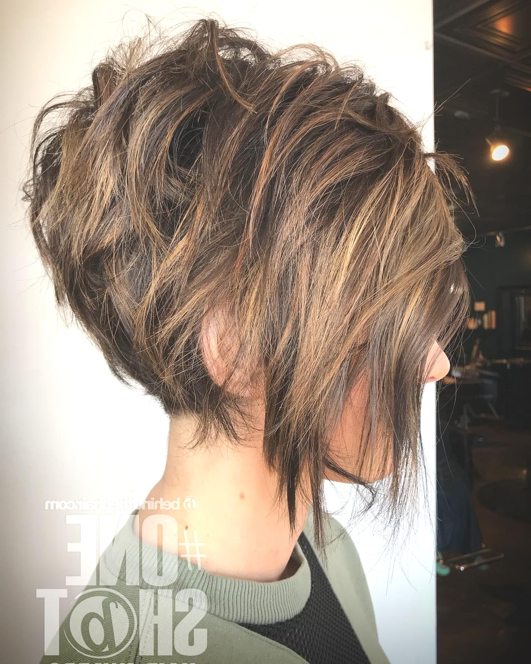 Hairstyles : Messy Layered Short Hair Astonishing 10 Trendy Intended For Layered Short Bob Haircuts (View 8 of 20)