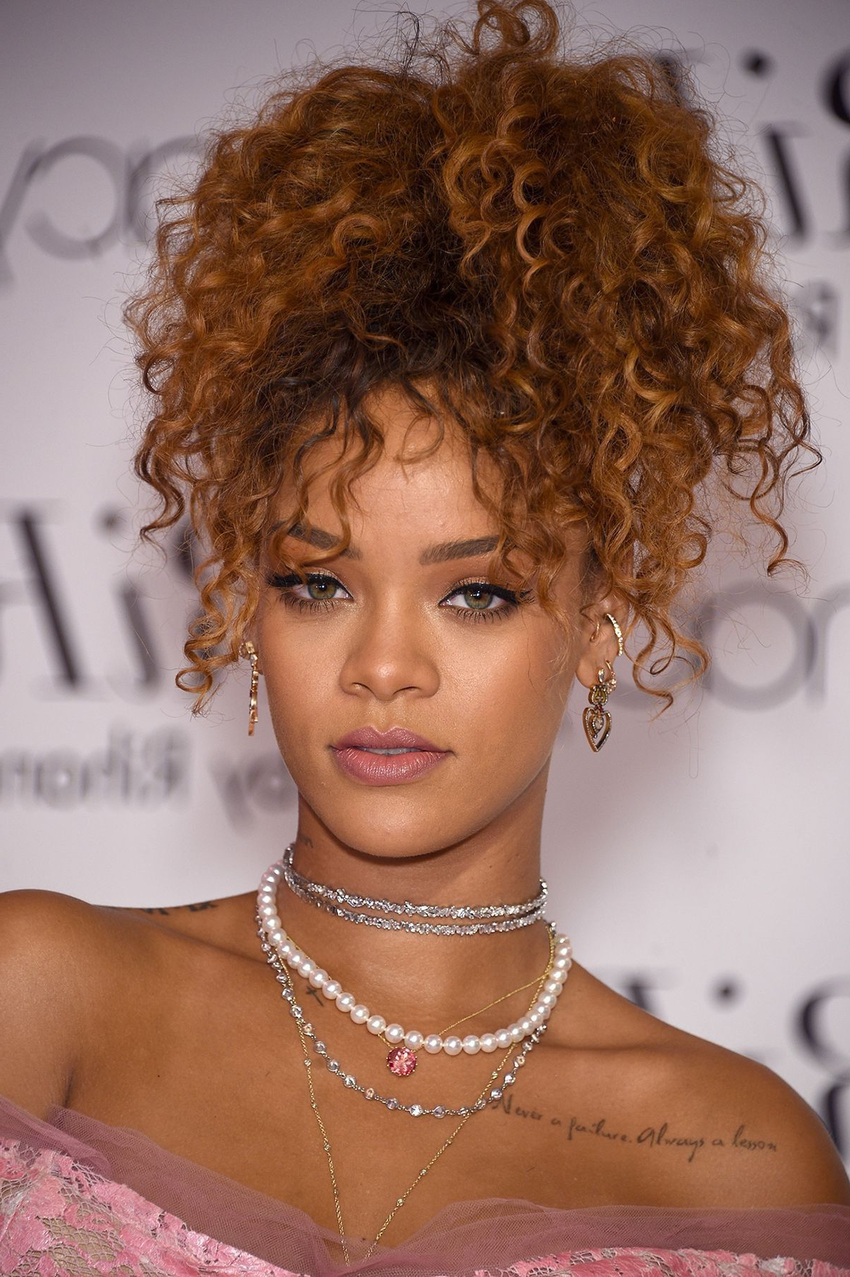 Hairstyles : Rihanna Curly Hairstyles 17870 Get S Mohawk And Inside Most Recently Released Rihanna Black Curled Mohawk Hairstyles (View 8 of 20)