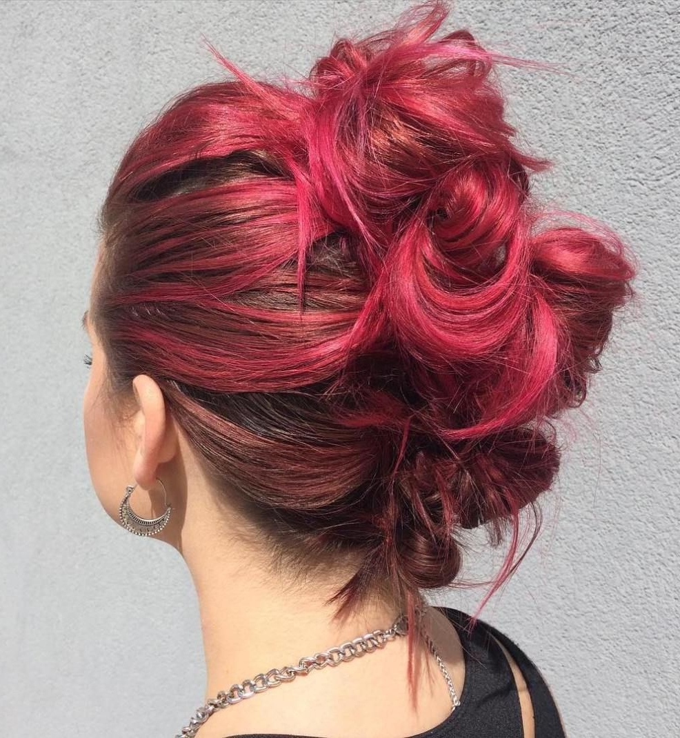 Hot Hair In For Well Known Hot Red Mohawk Hairstyles (View 9 of 20)