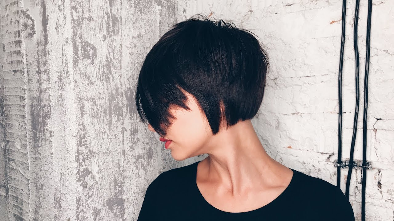 How To Cut Beautiful Short Bob Haircut With Layers Pertaining To Layered Short Bob Haircuts (View 16 of 20)