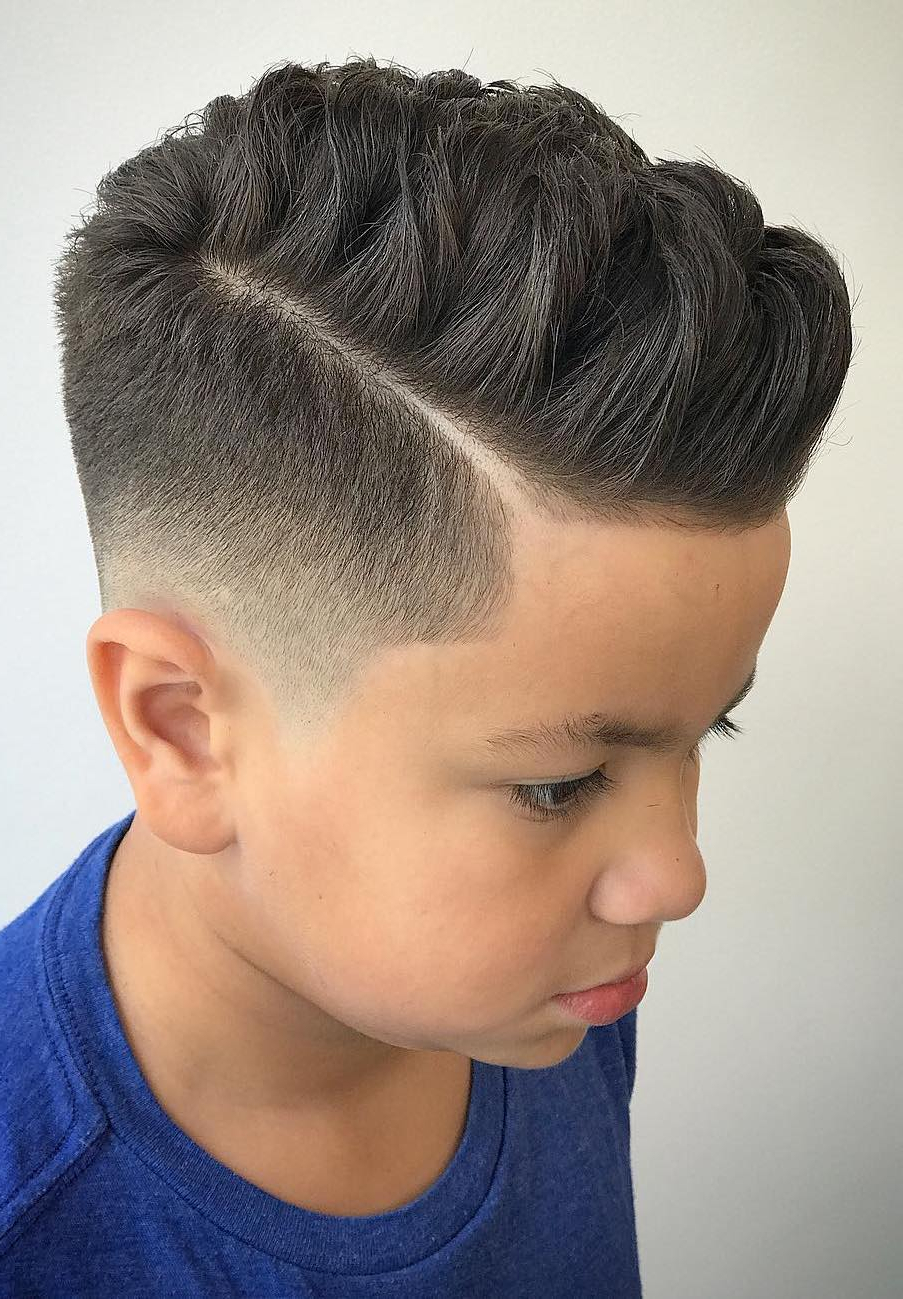 How To Cut Boys Hair + Layering & Blending Guides Pertaining To Latest Asymmetrical Chop Mohawk Haircuts (View 14 of 20)