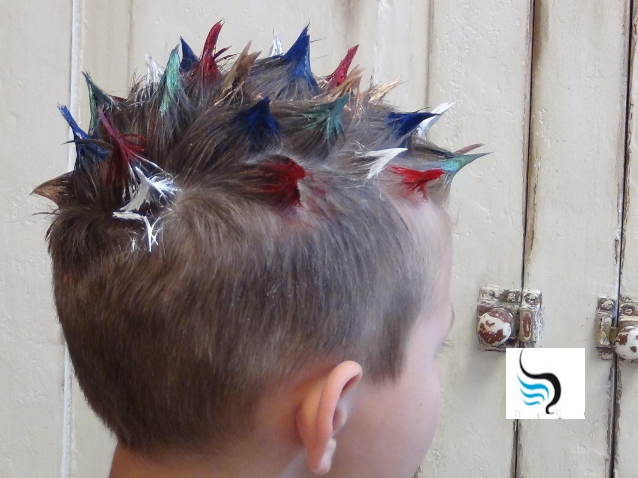 How To Do Crazy Spiked And Mohawk Hairstyle For Boys Hair In With Regard To Favorite Spiky Mohawk Hairstyles (View 16 of 20)