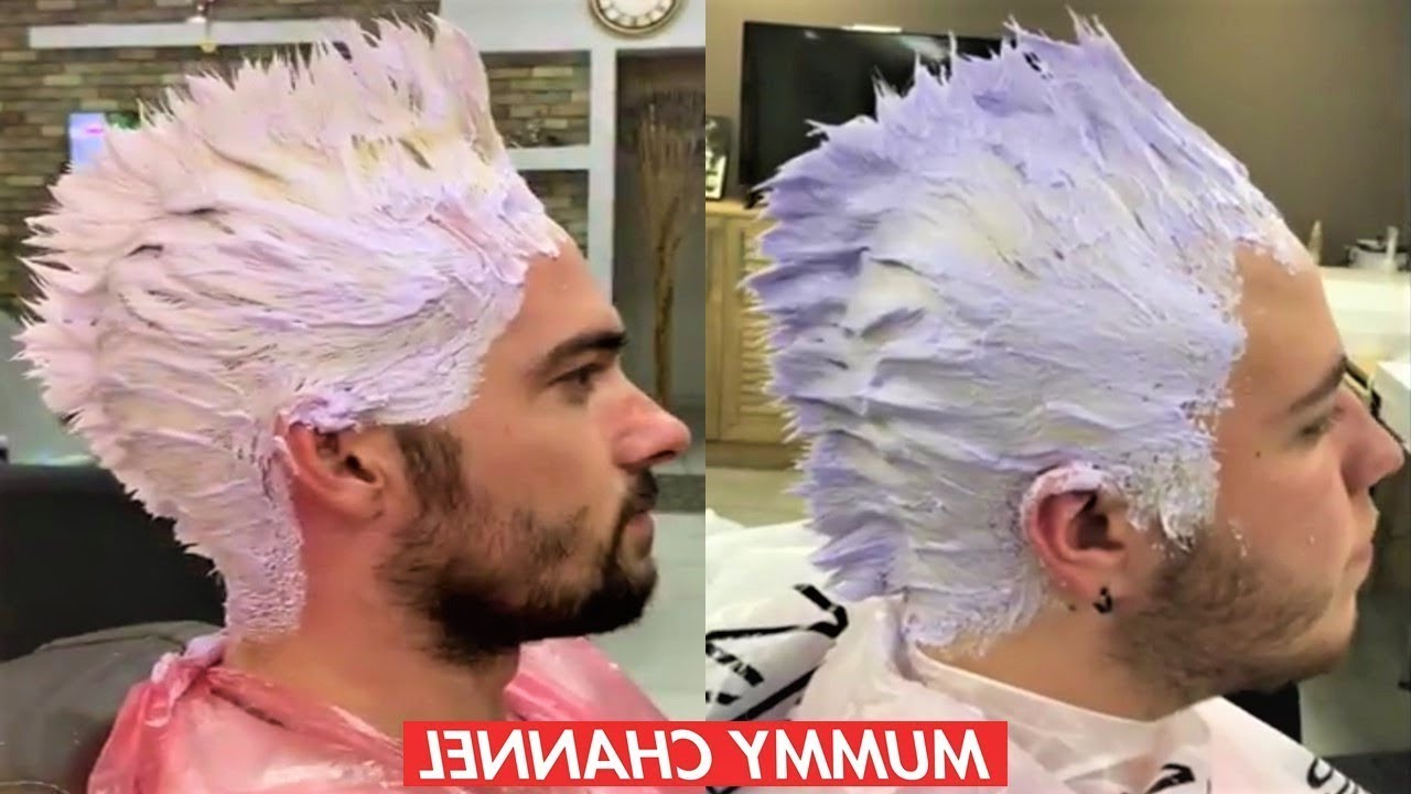 How To Properly Color A Gentleman's Hair – Barber Staylis 2019 For Most Up To Date Color Treated Mohawk Hairstyles (View 13 of 20)