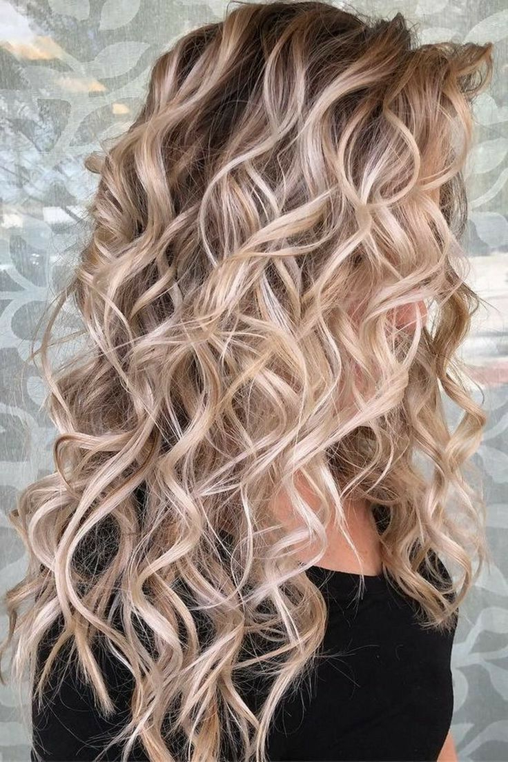 I Admire #curly #hair Intensely!!! So Beautiful!! #curlyhair With Curls And Blonde Highlights Hairstyles (Gallery 14 of 20)