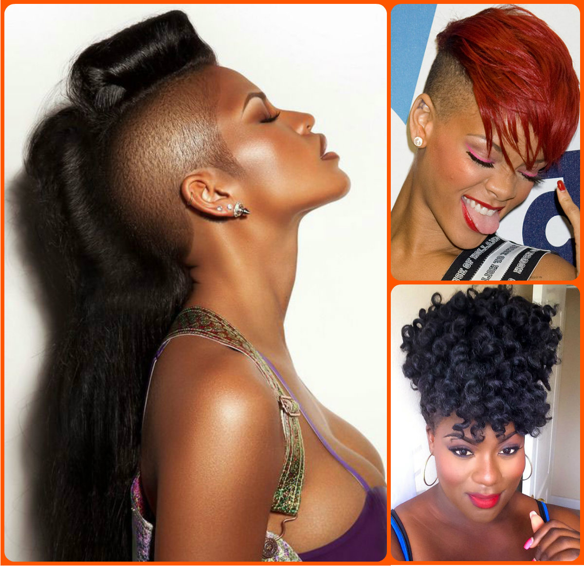 Jazzy Mohawk Hairstyles For Black Women (Gallery 9 of 20)