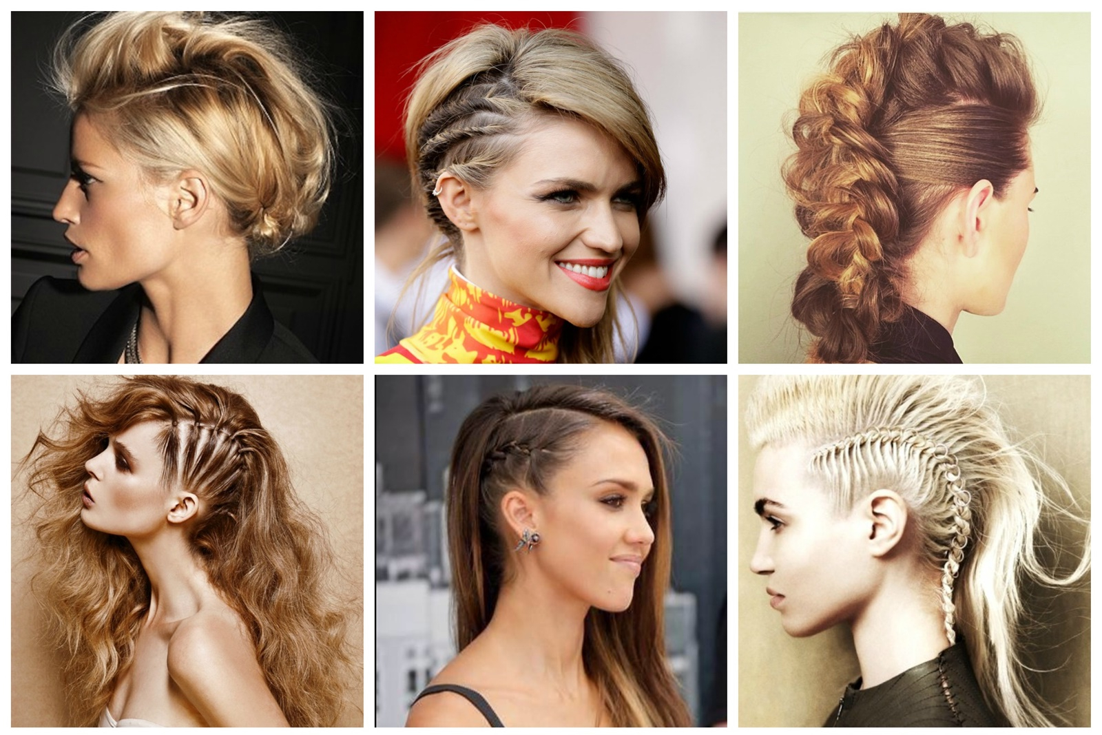 Learn How To Create Fake Mohawk Braid (View 13 of 20)