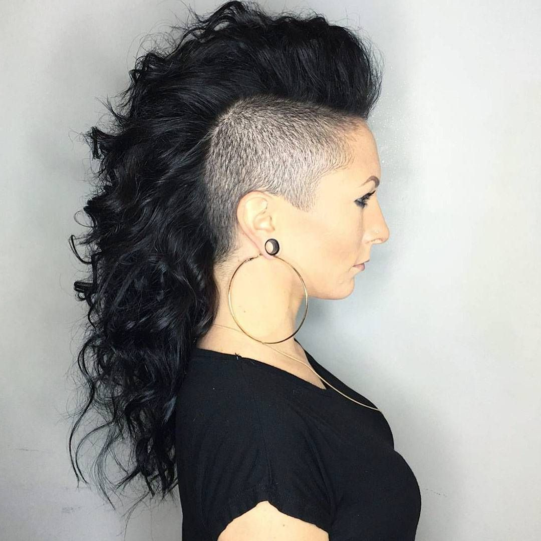 Long Hair Shaved Sides (View 5 of 20)