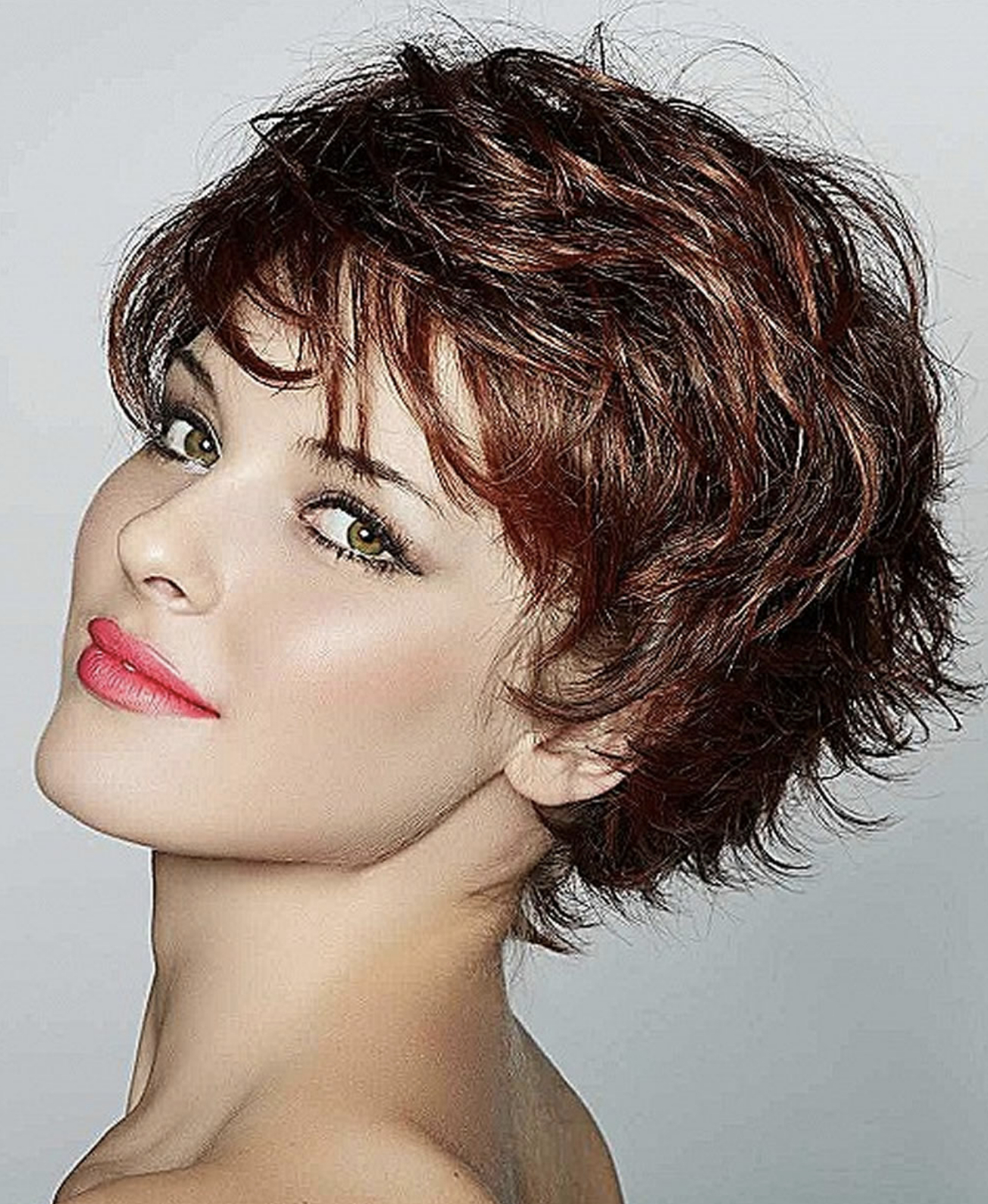 Lovely Curly Short Haircuts And Bob Pixie Hair 2019 With Curly Pixie Haircuts With Highlights (View 2 of 20)