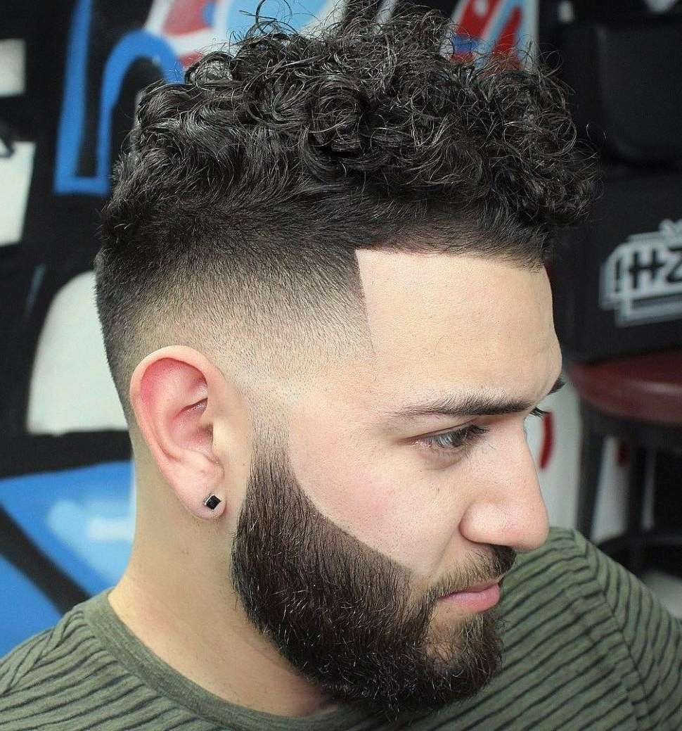 Mens Long Hairstyles In Inside 2020 Sharp And Clean Curly Mohawk Haircuts (View 3 of 20)