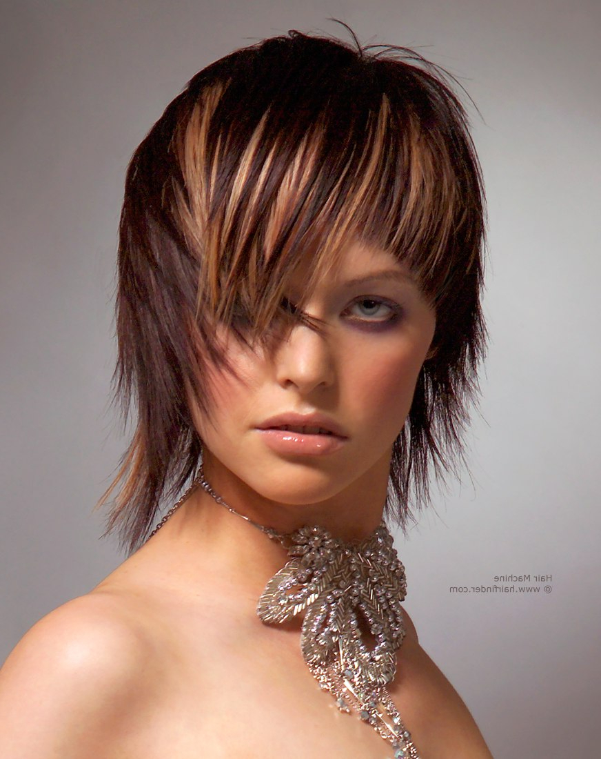 Modern, Edgy Hairstyles That Flatter The Model Who Wears Them With Regard To Modern And Edgy Hairstyles (View 8 of 20)
