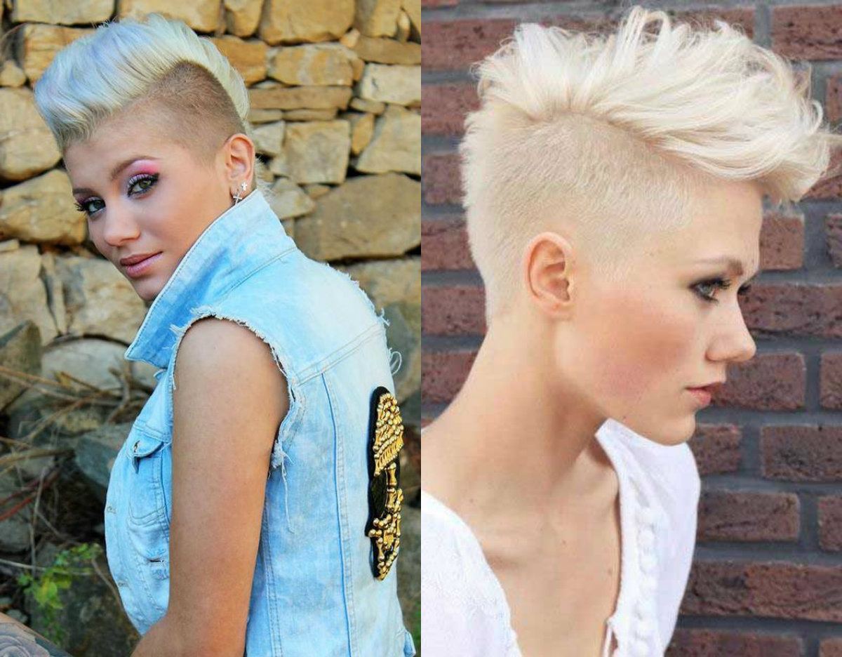Mohawk Hairstyles For Women That Have Something To Say Within Preferred Blonde Curly Mohawk Hairstyles For Women (View 11 of 20)
