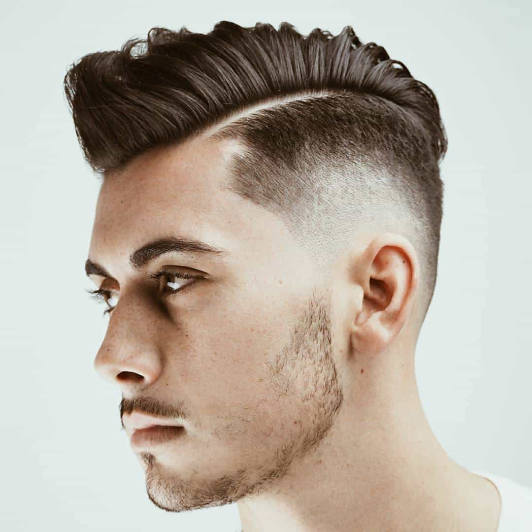 [%Most Current Curly Faux Mohawk Hairstyles Within Top 35 Handsome Faux Hawk (Fohawk) Hairstyles [November. 2019]|Top 35 Handsome Faux Hawk (Fohawk) Hairstyles [November (View 1 of 20)