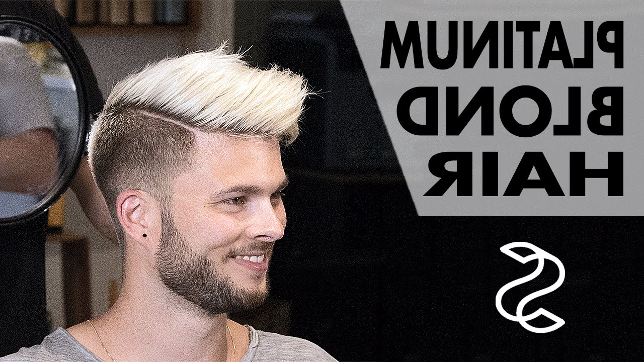 Most Current Short Hair Inspired Mohawk Hairstyles Pertaining To Aaron Ramsey To Justin Bieber – Platinum Blond Style – Men's Hair Inspiration (View 16 of 20)