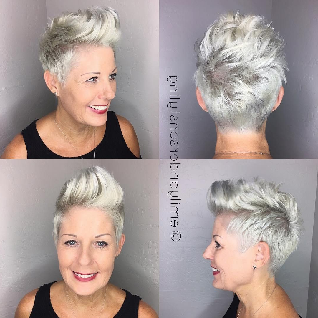 Most Popular Classy Faux Mohawk Haircuts For Women Pertaining To Pin On Hair (View 14 of 20)