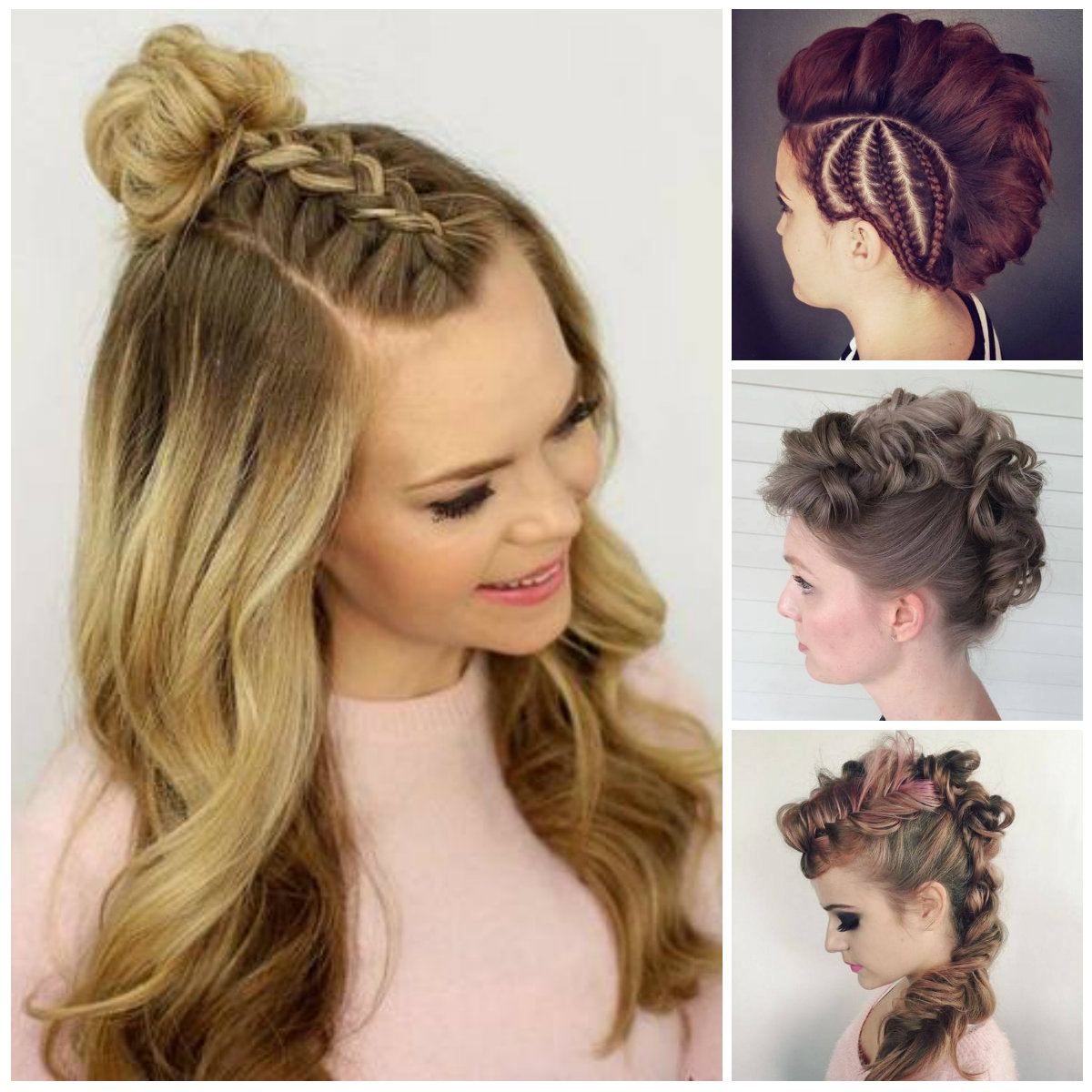 Most Popular Full Braided Mohawk Hairstyles With Regard To Braided Mohawk Hairstyles For Females (View 12 of 20)