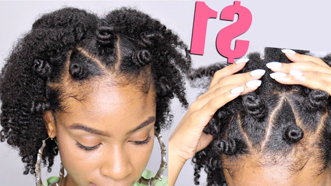 Most Recent Mohawk Hairstyles With Braided Bantu Knots Throughout Bantu Knot Crown On Natural Hair► Natural Hairstyles (View 13 of 20)