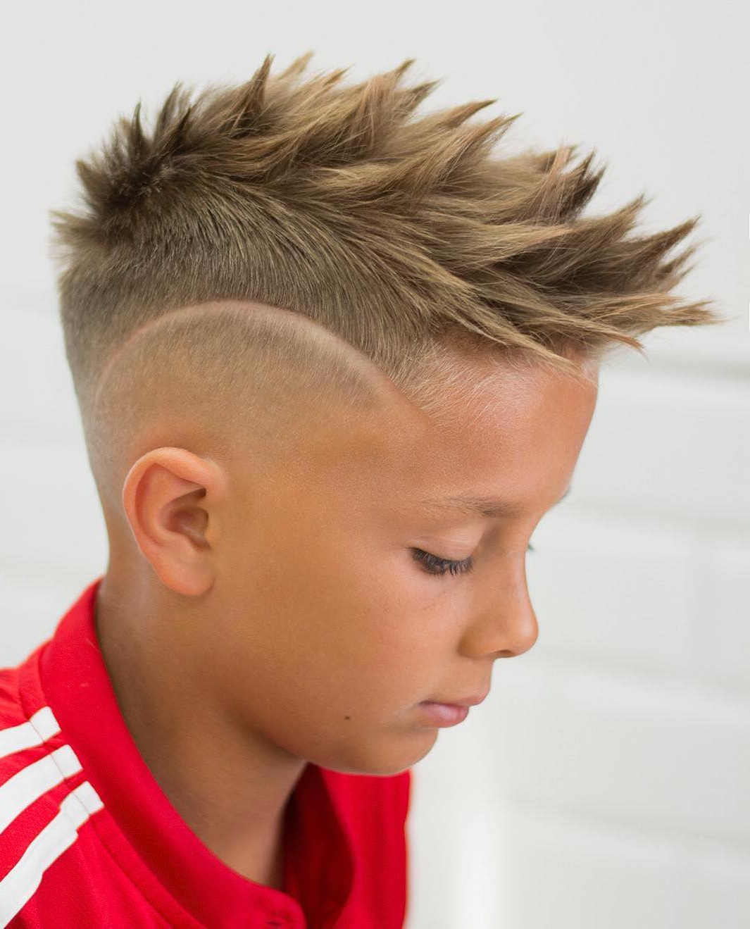 Most Recent Short Hair Inspired Mohawk Hairstyles With Regard To 90+ Cool Haircuts For Kids For  (View 12 of 20)